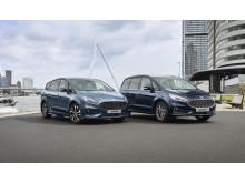 Ford S-MAX og Ford Galaxy Hybrid 2020