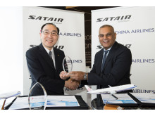 A small token of gratitude from Satair Group to China Airlines - celebrating the newly signed IMS deal for China Airlines' Airbus fleet