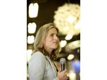 Anna Holmdahl White Båtmässan 2015 Presskonferens