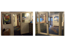 Alford House Before and After - Lobby