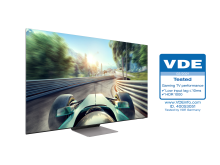 [Photo] Neo QLEDs Receive Industry First Gaming TV Performance Certification from VDE 2