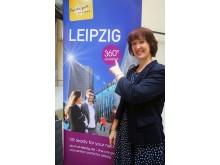 Hiskia Wiesner,  Leiterin Kogresse und Tagungen der LTM GmbH freut sich auf den Start des von Ihr geleiteten Projekts