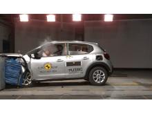 Citroen C3 Frontal Impact Test 2017