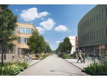 Campus Albano, Albano gata, Stockholm