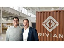 RJ Scaringe, grunnlegger av Rivian og styreformann i Ford, Bill Ford 2019
