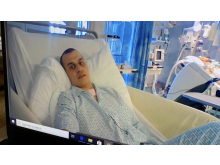 Asbjørn på Aberdeen hospital - vågen - credits Judith Morell