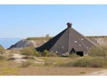Boesdal Pyramiden, Stevns Klint. Fotograf Dorte Færch