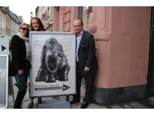 Elephant team visit historic Trier