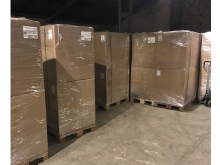 03 Pallets of cigarettes seized from a Glasgow warehouse