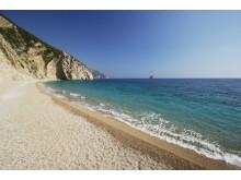 Paradise Beach på Korfu