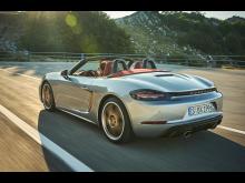 Jubileumsmodellen Porsche Boxster 25 years.