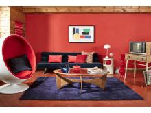 Sony 1960s living room landscape
