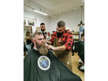 Ihab el Boustany, The Cut Barbershop, Eskilstuna