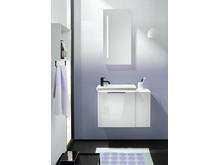 Neue Gästebadlösung Eqio in zwei Varianten, drei Materialien und sechs Oberflächen