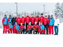 Det østerriske skiforbundet (ÖSV) trener i Trysil.