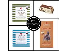 Gardini vinner 8 priser för sin choklad på International Chocolate Awards