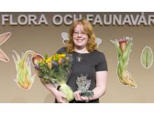Kajsa Mellbrand får Artdatabankens naturvårdspris 2017