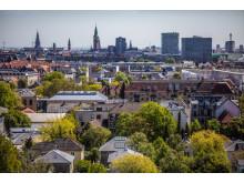 Udsigt over København fra Falkoner