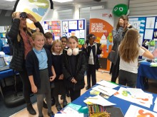 Local schoolchildren at the SCIB end-of-year event