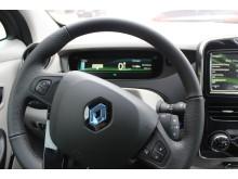 Infor OECR 2013: Renault Zoe interiör