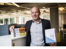 Jan-Olof Edgar, AMA-chef på Svensk Byggtjänst