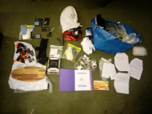 Items seized from the OCN