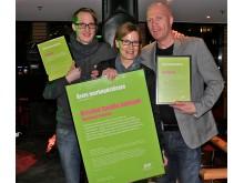 Skellefteå kommuns kriskommunikation utsågs till Årets marknadsförare i Skellefteå 2011