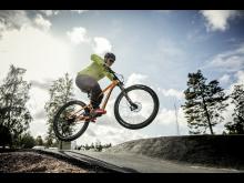 Cykel på Billingen Skövde.