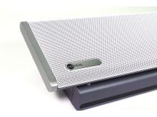 HDL300 ljudsystem vit detalj