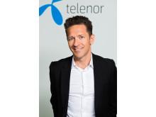 Christian Trane CMO Consumer Telenor