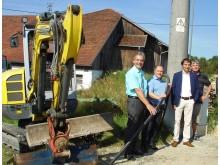 Das Bayernwerk informierte über mehrere Baumaßnahmen in Tittling.