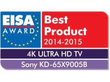 EISA 2014 4K TV of the Year KDL-65X9005B