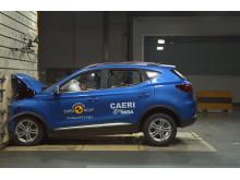 MG ZS EV frontal full width impact test Dec 2019