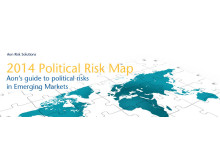 Aon's 2014 Political Risk Map
