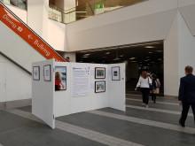 National Rail No Boundaries Exhibition at Birmingham New Street station