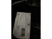 Example of a fake address on a package