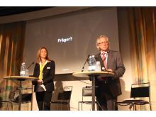 Carola Mattsson, Weber Saint Gobain Byggprodukter och Fredrik Winberg, Byggmaterialindustrierna