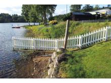 staket vid vatten