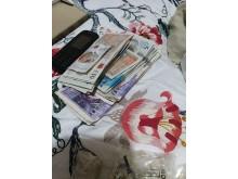 Cash seized during West End warrants [19.12.19]