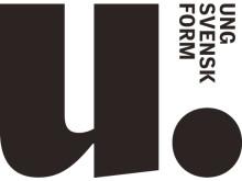 Ung Svensk Form logotyp svart
