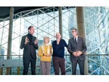 Axel Springer symbolic key handover