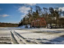 Vattenverket vid Kottlasjön på Lidingö
