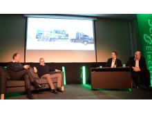 Prosjektdirektør for Eliaden, Nils Erik Magnell og VP for Partner Business i Schneider Electric gjester talkshowet, Senkveld