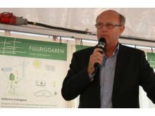 Bengt Nevsten - första spadtaget Fullriggaren