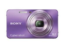 Cyber-shot DSC-W570 von Sony_Violett_01