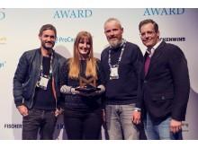 Max-Award-Preisträger_Oliver Zacharias-Tölle (PUK)_Lynn Scotti (SMG)_Moritz Luft (SMG)_Jens Hoffmann (PUK)