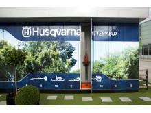 Husqvarna Battery Box visas på Elmia Subcontractor 2017