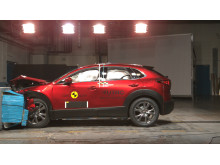 Mazda CX-30 frontal offset impact test November 2019