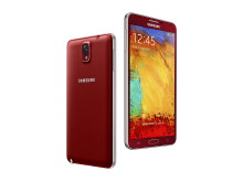 Galaxy Note 3 Merlot Red