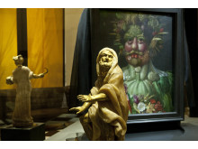 Vertumnus av Rudolf II som årstidernas gud